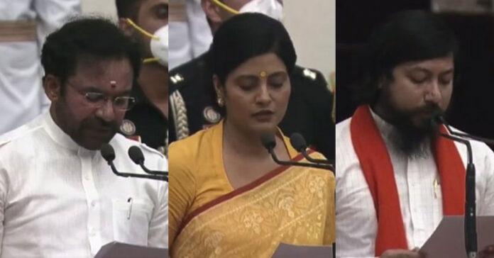 modi new cabinet ministers